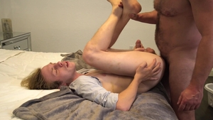 FamilyDick: Teacher Kristofer Weston stretching sex scene
