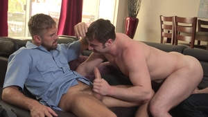 Family Dick - Myles Landon giving head for Wesley Woods
