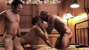 FamilyDick.com: Hard sex next to young Dale Savage in the bed