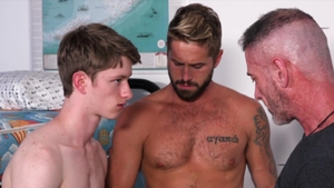 FamilyDick - Bareback nailing with Felix Maze and Wesley Woods