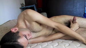 LatinLeche.com - Nervous gay feels in need of rough nailing