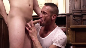 MissionaryBoys - Nude Elder Addison really likes threesome