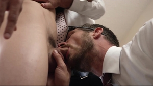 MissionaryBoys - Classic Austin Xanders touches penis