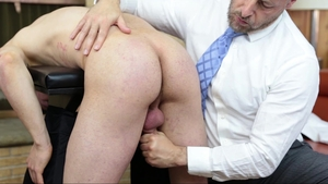 MissionaryBoys: Elder Titov ass pounded outside