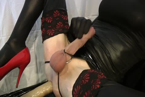Sissy gets hammered By The Machine