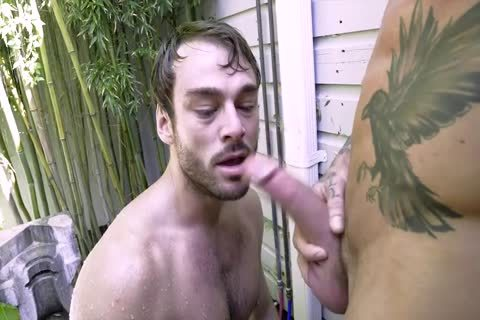 Dylan James Uses A poke Machine On Max Adonis