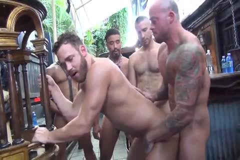 MusclePup Logan Moore acquires gang pounded Barebacked pound
