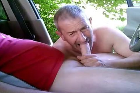 lewd gay guys On Car Have Some Public And Outdoor Sex
