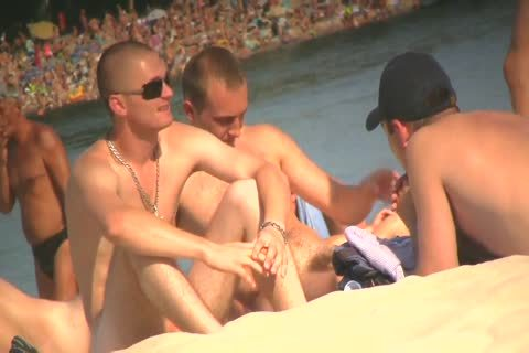 SPYING ON nude dudes AT THE NUDIST BEACH - VOL 1