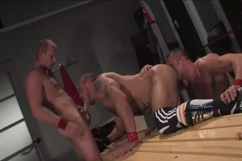 Jake Deckard, Tyler Saint And Scott Tanner threesome