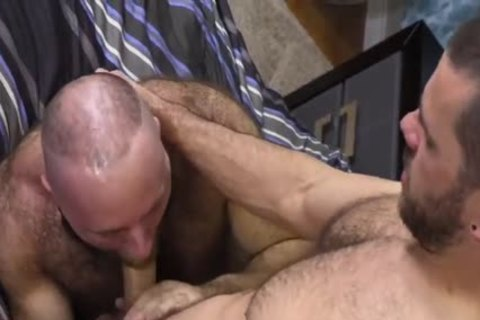 bushy Teddy Bear banging enormous Cocked Hunk
