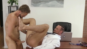 IconMale: Hard nailining with Wesley Woods & Michael Roman