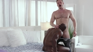 Noir Male: Nailing together with shaved DILF Brian Bonds
