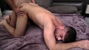 IconMale.com - Athletic Lance Hart with american Mason Lear