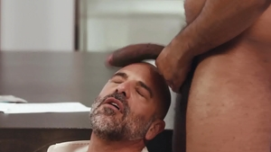 NoirMale - Ray Diesel nailed by huge cock Adam Russo in office