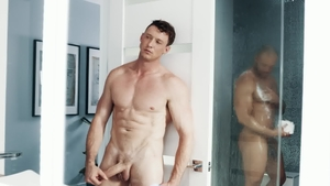 NoirMale - Jock Jason Vario masturbating scene in HD