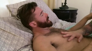 Icon Male - Plowing hard between muscled DILF Brendan Patrick