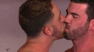 Icon Male - Billy Santoro plowed by big cock daddy