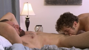 IconMale - Calvin Banks & Max Sargent blowjob cum