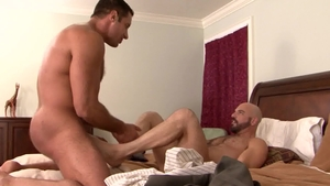 Icon Male: Hairy Adam Russo likes hard pounding in HD