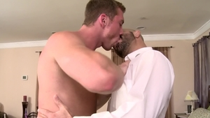 IconMale.com: Hairy DILF Adam Russo likes hard ramming in HD