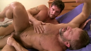 Icon Male: Ty Roderick escorted by Dirk Caber blowjob cum