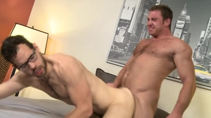 ExtraBigDicks: Hairy Connor Maguire teasing big cock