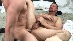 Dylan Lucas: Jack Hunter and big dick thief Park Wiley rimming