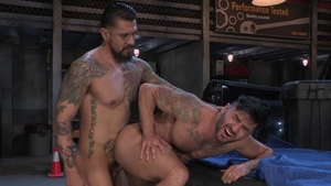 HotHouse.com - Tight Bruno Bernal feels up to raw sex