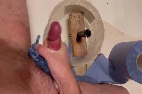 wank With Wallpaper Paste When Wallpapering