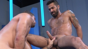 RagingStallion - Inked Adam Ramzi butt fuck rimming
