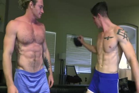 Robbie Takes each Inch Of Sage's large dick