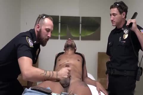 Perp receives It Hard