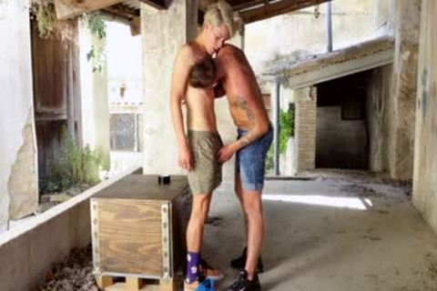 Blond twink serf likes To Be Used By His master - Chastity