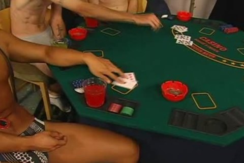 strip poker inevitably leads to cute homo sex